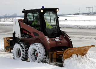 paving and snow plowing